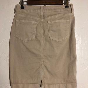 NYDJ Skirts - NYDJ khaki pencil skirt, size 2P
